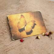Butterfly Photo Album Handmade Vintage De Fotos Scrapbooking Paper Valentine's Gift Good Way To Retain Memories Wonderful For Your Friends