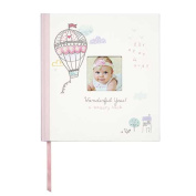C.R. Gibson Baby Girl Memory Keepsake Book - Wonderful You