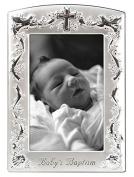 Malden Baby's Baptism 4X6 Frame Vertical Metal