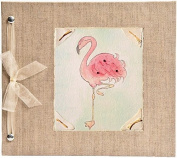 Hugs and Kisses XO Flamingo Baby Memory Book