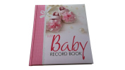 FaithView Creations Baby Record Book Girl, 0-7 Years, 60 Pages