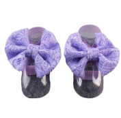 Fullkang Baby Girls Foot Flower Anklet Lace Barefoot Fashion Beautiful 1Pair