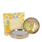 Stephan Baby Tiny Treasures Clay Handprint/Footprint Kit in Keepsake Tin