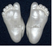 CHILD Foot Hand PEARL Casting Mould Kit Toddler Cast