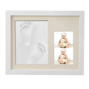 eshion Baby Handprint and Footprint Frame Package Mould Kit Baby Gift Keepsakes