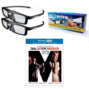True Depth 3D Glasses and Classic 3D Movie Pack! Everything you need for a Classic 3D experience on your DLP link 3D Projector!