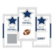 Set of 12 Scratch Off Game Cards for Baby Shower Games with Dallas Texas Cowboys Football SC400