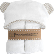 Premium Baby Hooded Towel and Washcloth Set | Organic Bamboo Baby Towels with Hood 2x as Thick & Soft | Baby Bath Towels with Hood for Boy, Girl, Newborn, Infant, or Perfect Toddler Towels with Hood