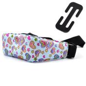 Cunina Baby Kids Adjustable Safety Neck Relief Car Seat Sleep Head Support Belt