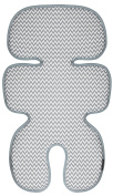 Manito Clean Basic 3D Mesh Seat Pad/Cushion/Liner for Stroller and Car Seat