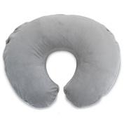 Boppy Luxe Petite Nursing Pillow and Positioner, Trellis Grey