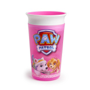 Munchkin PAW Patrol Miracle 360 Sippy Cup, Pink, 270ml