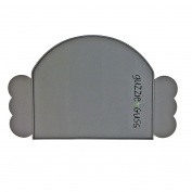 guzzie+Guss Perch Silicone Placemat, Grey