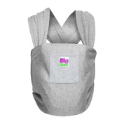Baby Sling Carrier for Newborn by BIG MATE - Super Soft Baby Sling Wrap for Breastfeeding and Bathtub - Made of Premium Quality Cotton for Your Comfort - Great for Dad as Well - INSTRUCTIONS Included