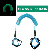 Glow in the Dark Baby Child Anti Lost Safety Wrist Link Harness Strap Rope Leash Walking Hand Belt Band for Toddlers, Kids