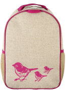 SoYoung Toddler Backpack, Pink Birds