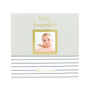 Pearhead Baby Memories Keepsake Box, Grey