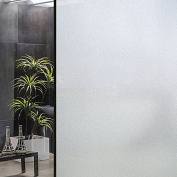 Window Film Frosted Static Privacy Decoration Self Adhesive For UV Blocking Heat Control Glass Stickers,90cm x 300cm