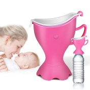Portable Travel Potty Urinal, Aonkey Potty on the Go, Great for Newly Potty Training Toddlers or Potty in the Car, Camping or Travel, Easy to Clean, Store and Use