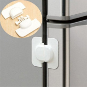 Baby Cabinet Safety Locks - Refrigerator Fridge Freezer Door Lock Latches Catch Baby Safety