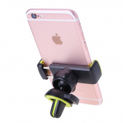 Universal Mobile Phone 360° Rotating Car Air Vent Mount Holder Stand Cradle for all 3.5-15cm Cellphones