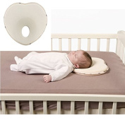 Gouptec Hot baby pillow infant shape toddler sleep positioner anti roll cushion flat head pillow protection of children support Neck