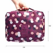 Travel Cosmetic Makeup Bag,Elaco Toiletry Case Wash Organiser Storage Pouch Handbag