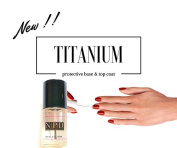 TITANIUM - protective base & top coat 15 ml.