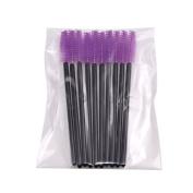 BEAUTE RROIR Disposable Mascara Brush Eyelash Cosmetics Purple