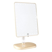 Impressions Vanity Company Touch Pro LED Makeup Mirror with Wireless Bluetooth Audio + Speakerphone & USB Charger, 15kg