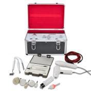 Scenstar 5 in1 Fical machine ,Massage Brush,High Frequency Galvanic Facial Brush Vacuum Spray Beauty Machine