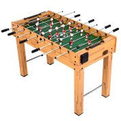 Giantex Foosball Soccer Table 120cm Competition Sized Arcade Game Room Hockey Family Sport