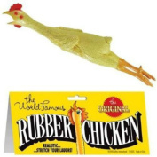 THE WORLD FAMOUS ORIGINAL RUBBER CHICKEN classic turkey toy funny chicken pranks 50cm