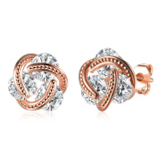 Forever C Silver-plated wire with zircon earring Earrings eardrop