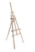 STUDIO EASEL (1.8m high) DISPLAY - PINE WOOD - CANVAS - PICTURE - HOLDER
