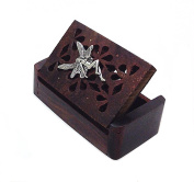 Silver Tooth Fairy Rosewood Keepsake Box for Children