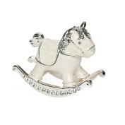 6.4cm H Rocking Horse Trinket Box Trinket Box by Roman