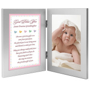 New Baby or Granddaughter Baptism Gift from Grandparent(s) - Add Photo