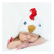 Newborn Infant Handmade Photo Prop Outfit Knit Crochet Baby Photography Props Hat Chick Style