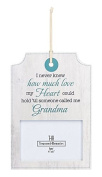New Grandma Wall Plaque Frame - How Much Love