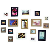 Photo Frame,Baomabao 10Pcs 7.6cm Cute Paper Wall Picture Album Hanging Rope Camp