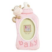 Zero-Sum Baby Photo Frame Cute Milk Bottle Shape