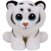 Ty Classic Beanies Tundra the white tiger 25cm Medium Buddy Size 9""