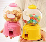 URBeauty 1Pcs Cute Sweets Mini Candy Machine Bubble Gumball Dispenser Coin Money Bank Kids Toy Children Christmas Gift
