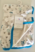 Sweet Puppies and Paws Baby Blanket