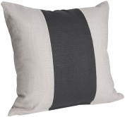 Oilo 46cm X 46cm Band Pillow, Linen