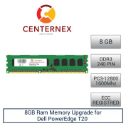 8GB RAM Memory for Dell PowerEdge T20 (DDR312800 ECC) Server Memory & Workstation Memory Upgrade from CENTERNEX