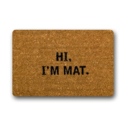 Hi I'm Mat Custom Doormat (60cm x 40cm ) Indoor Outdoor