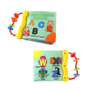 Baby's Frist Word Book,Soft Cloth Cognition Book Learning & Activity Early Education Toys