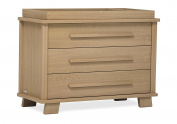 Urbane by Boori Lucia 3 Drawer chest - Almond